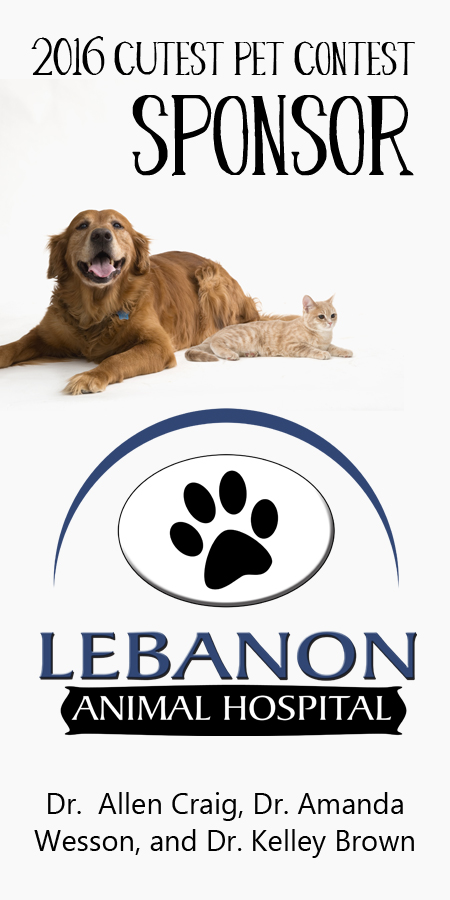 Side bar ad Lebanon Animal Hospital