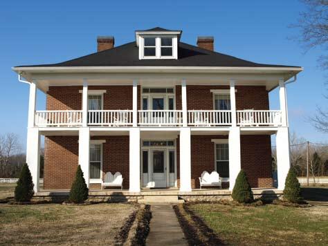 The Robertson Homestead in Wilson County, TN