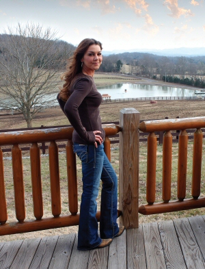 Gretchen Wilson at Home in Wilson County