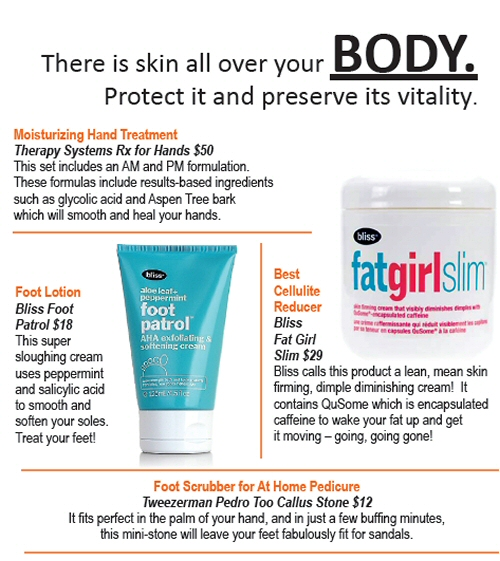 WLM - Body products