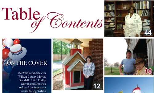 WLM - Table of Contents