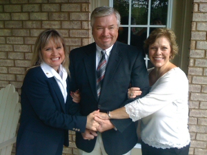 Wilson Living Magazine - Rachael Jacobs with Roy and his wife Amy