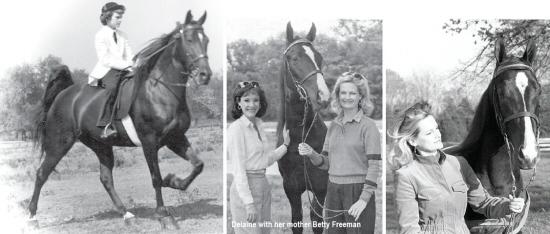 Wilson Living Magazine - Delaine with mother Betty Freeman