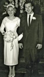 WLM - Wedding Day - Feb 26, 1956