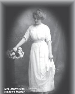 WLM - Mrs Jenny Bess Hibbett's mother, Annie Cotton Goggins
