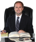 WLM - Lebanon Attorney Brody Kane at his law office